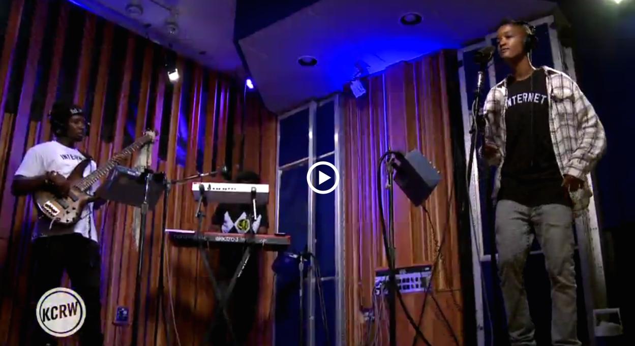 The Internet – Girl live @ KCRW studio