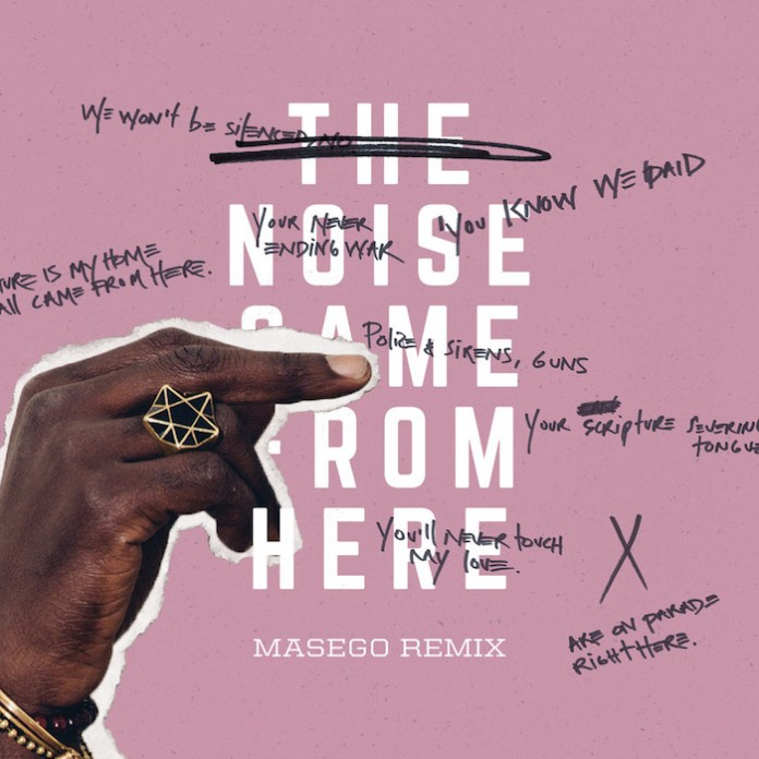 Saul Williams – The Noise Came From Here (Masego Remix)