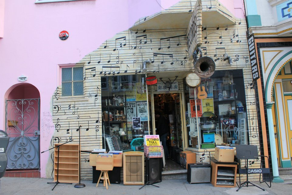 101 Music, 1414 Grant Ave, San Francisco