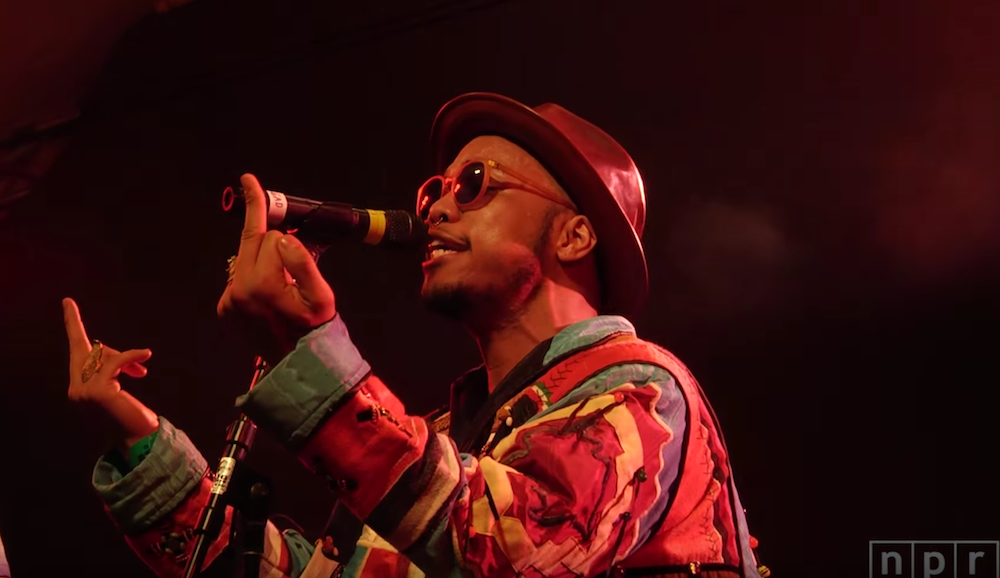 Anderson .Paak & The Free Nationals: SXSW 2016   NPR MUSIC FRONT ROW (VIDEO)