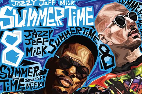 DJ Jazzy Jeff & MICK – Summertime Mixtape Vol. 8 (2017)