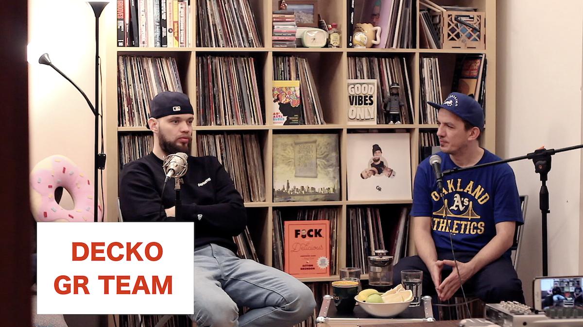 Decko: Začátky, Žužuleta, První vinyl, Spokojný a start Gramo Rokkaz (díl 1.) (VIDEO)