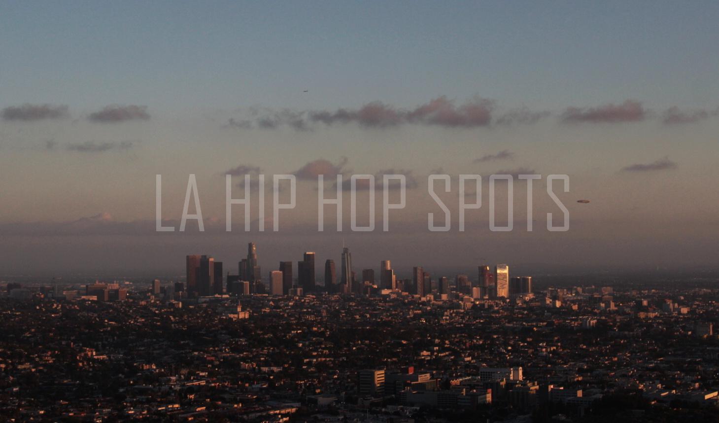 Los Angeles hip hop spots