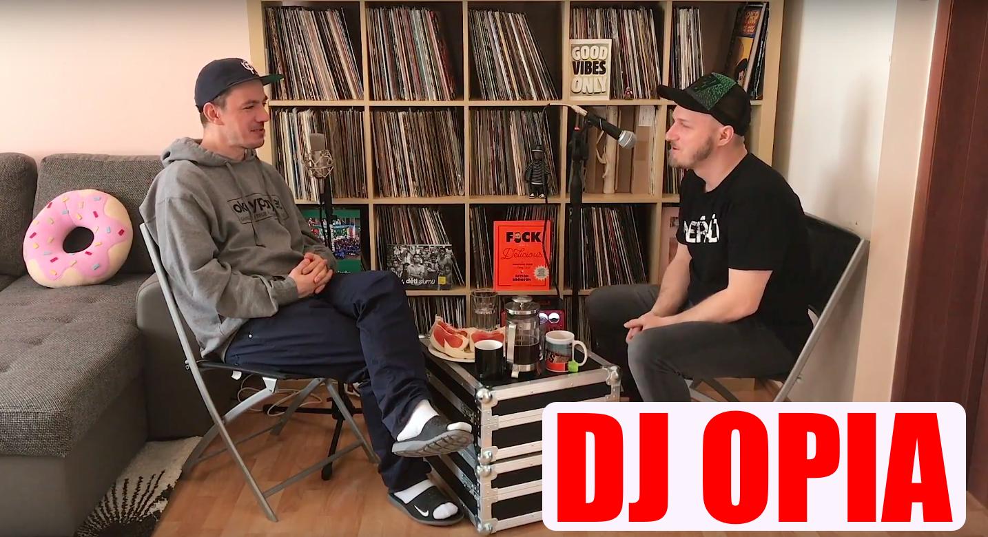 Video: DJ OPIA – Začátky, Rádio Brno, Graffiti a první setkání s gramofonem
