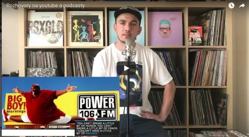 Rozhovory na youtube a podcasty