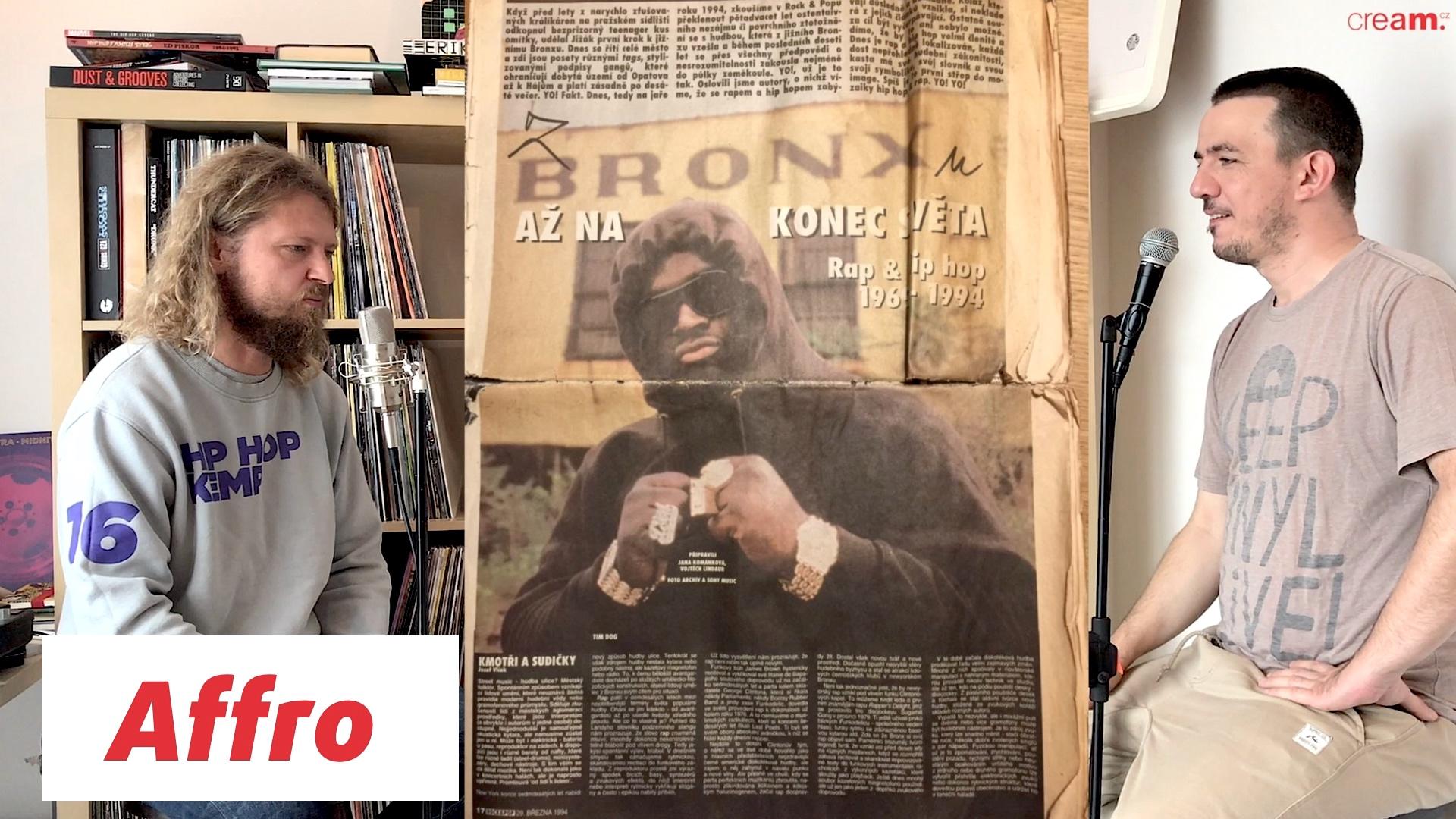 Affro – Dětství, první rap, Chaozz a vznik bbarak (díl 1)