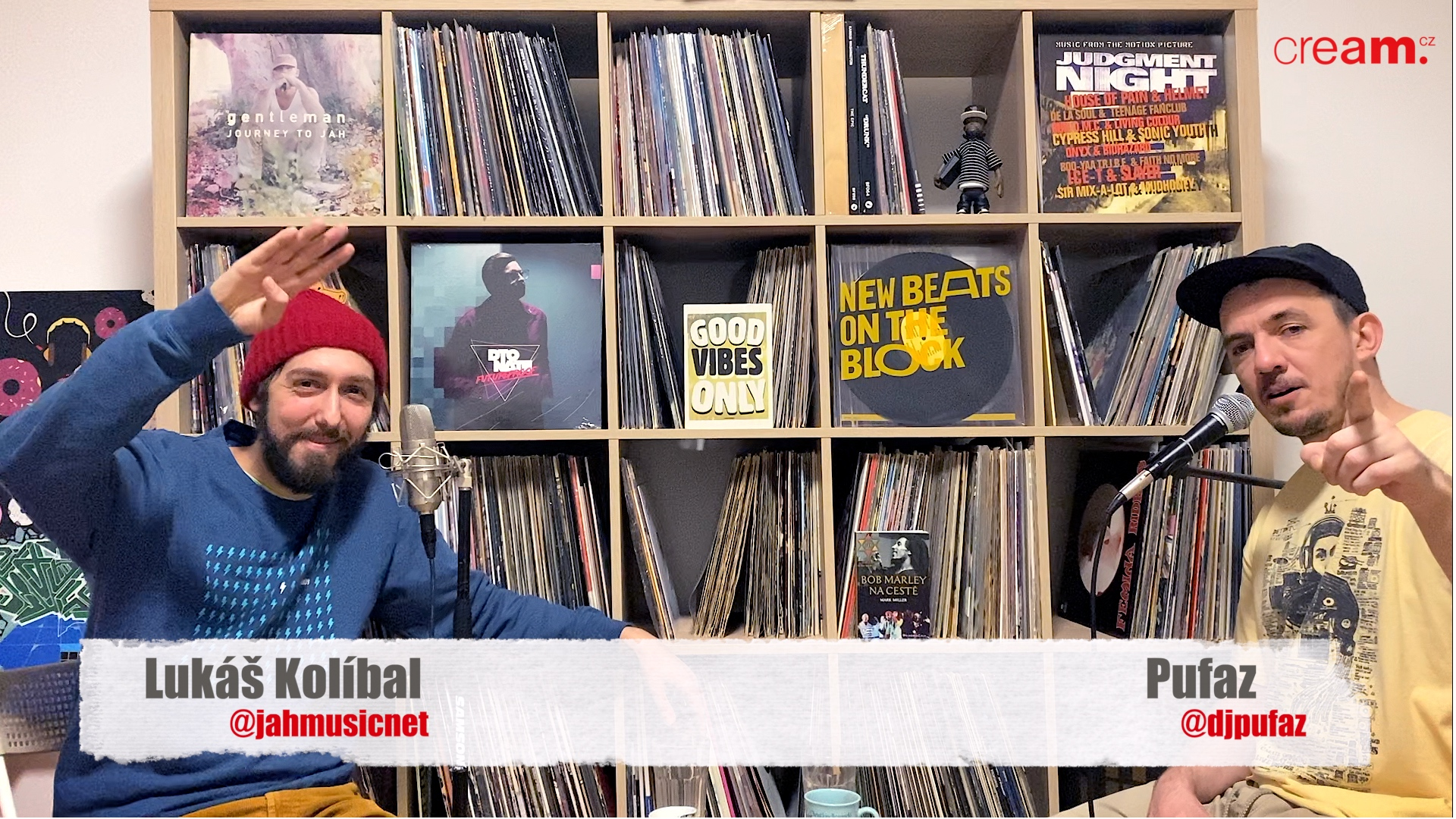 Lukáš Kolíbal – Reggae v CZ, festivaly, rádio a kniha o Bob Marley