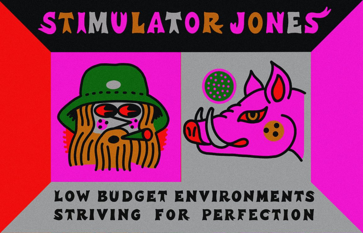 Stimulator Jones – Low Budget Environments Striving For Perfection (Stones Throw, 2021)